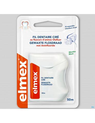 FIL DENTAIRE CIRE ELMEX® 50M