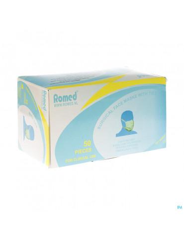 Romed Masque Chirurgical 3pl N/tis. S/latex 50