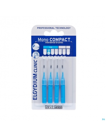 Elgydium Clinic Monocompact Blue